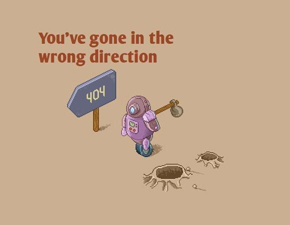 404页面设计图二
